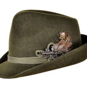 Капелюх баварський (тирольский, єгерський) для полювання
