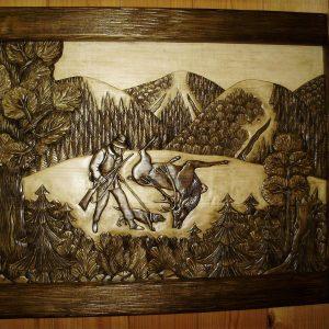 Мисливець і олень