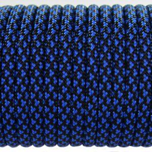 PARACORD TYPE III 550, LEOPARD BLACK&BLUE #079