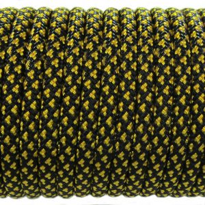 PARACORD TYPE III 550, LEOPARD BLACK&GOLD #078