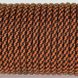 ПАРАКОРД 550, TYPE III, SPIRAL BLACK&ORANGE #089