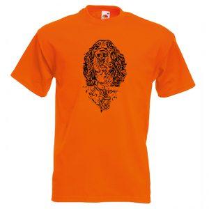 рос спаніель голова помаранч